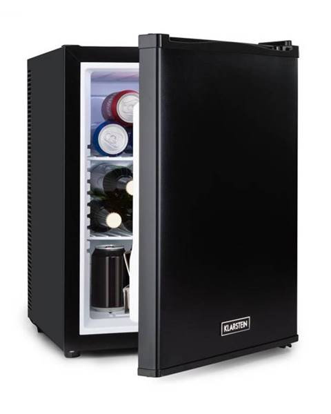 Klarstein Klarstein Happy Hour 37, mini bar, 37L, 5-15°C, tichý, 0dB, LED-svetlo, čierny