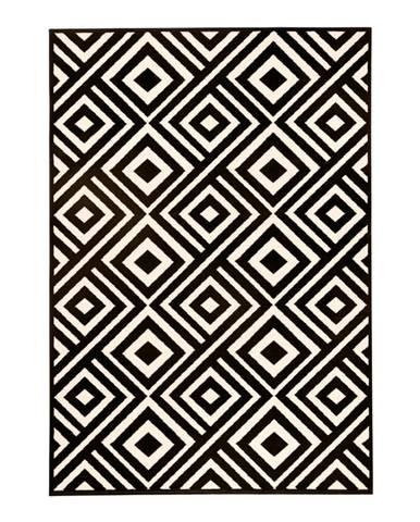Čierno-béžový koberec Hanse Home Art, 140×200cm