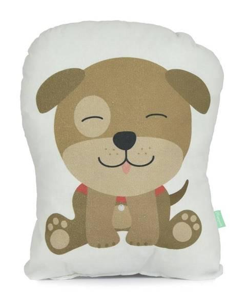 Happynois Vankúšik z čistej bavlny Happynois Airdog, 40×30 cm