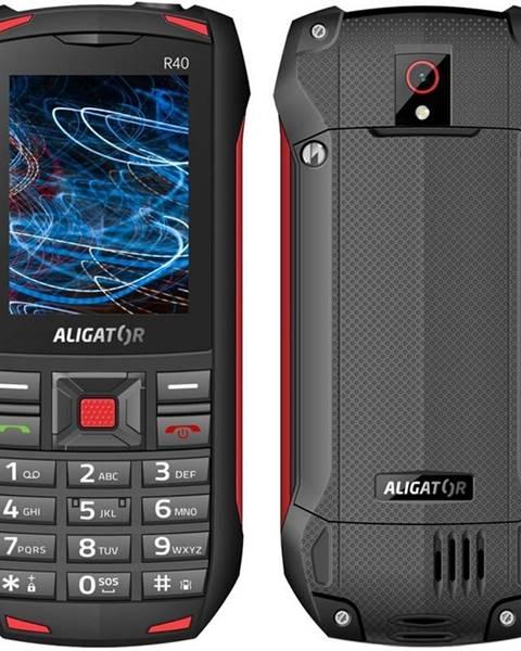 Aligator Mobilný telefón Aligator R40 eXtremo čierny/červený