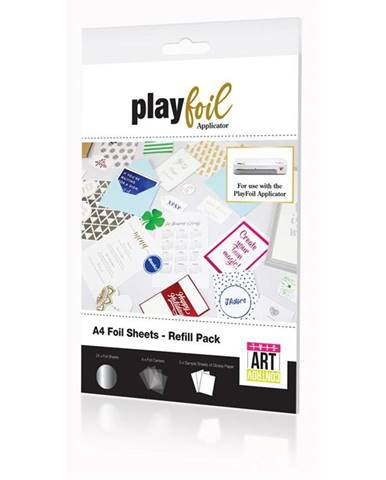 Náhradní fólie Controvartsial A4 pro PlayFoil - stříbrné