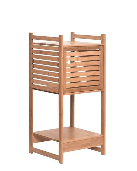 Tempo Kondela Regál prírodný bambus SELENE TYP 1