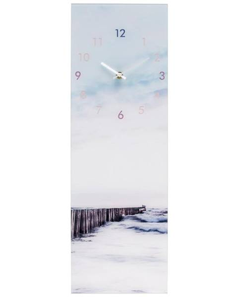 Möbelix Nástenné Hodiny Glasart Ca. 20x60cm