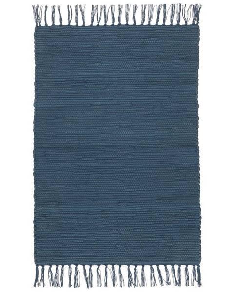 Möbelix Prešívaný Koberec Julia 3, 70/230cm, Tm.modrá