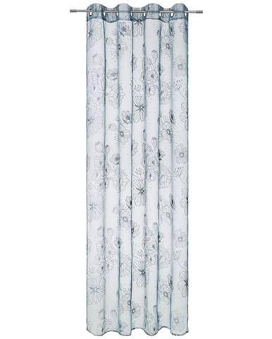Záves S Krúžkami Greta, 135/245 Cm