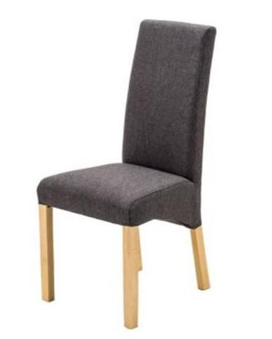 Jedálenská stolička FOXI prírodný buk/antracit