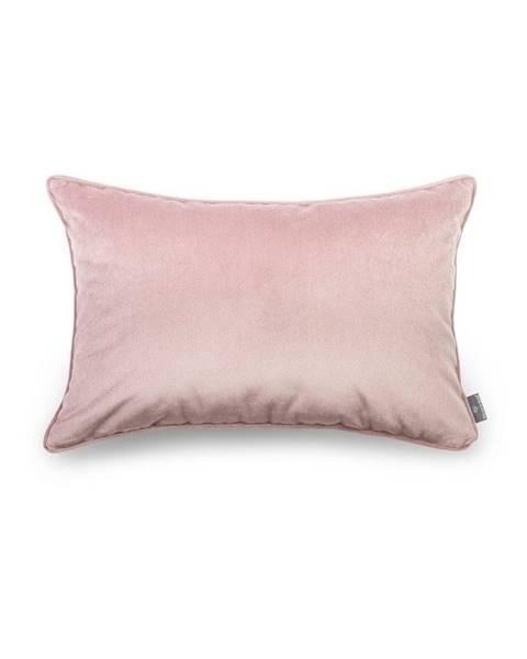 WeLoveBeds Ružová obliečka na vankúš WeLoveBeds Dusty, 40 × 60 cm