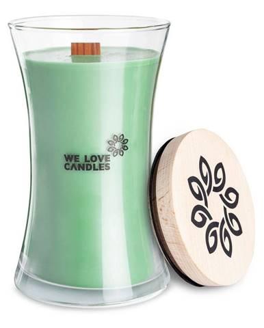 Sviečka zo sójového vosku We Love Candles Fresh Grass, doba horenia 150 hodín