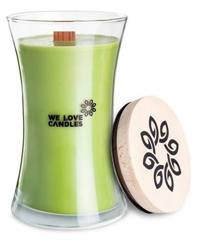 Sviečka zo sójového vosku We Love Candles Green Tea, doba horenia 150 hodín