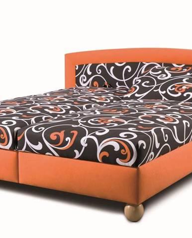 New Design  Manželská posteľ Maxrelax