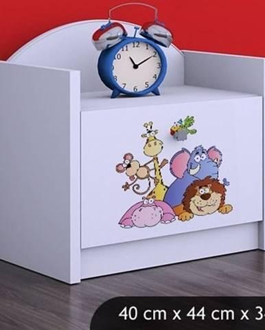 Happy Babies Nočný stolík HAPPY/ 05 Safari SZN02
