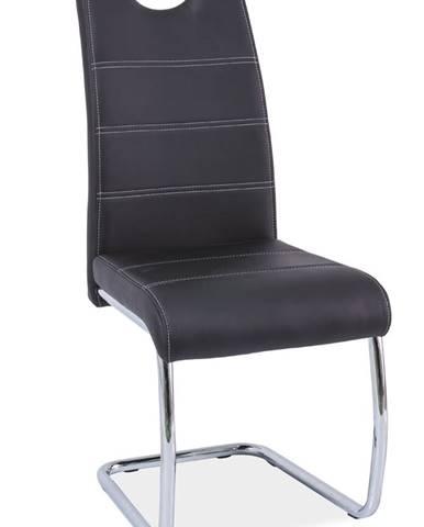 Signal Jedálenská stolička H-666 / čierna