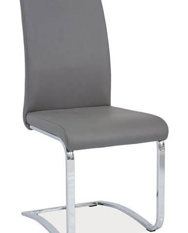 Signal Jedálenská stolička H-790 sivá