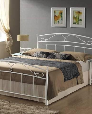 Signal Manželská posteľ SIENA 140 biela