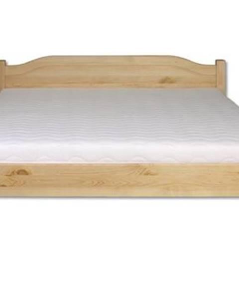 Drewmax Manželská posteľ - masív LK106   180cm borovica