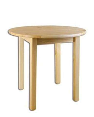 Drewmax Stôl - masív ST105   80cm borovica