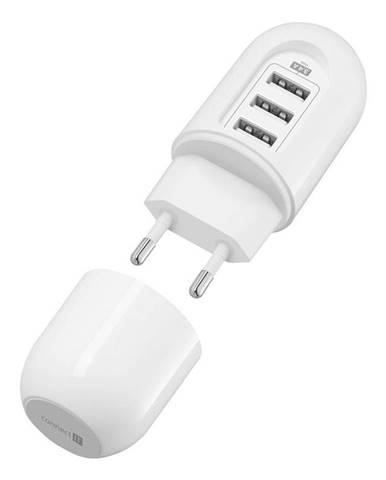 Nabíjačka do siete Connect IT Power Nomad, 3x USB