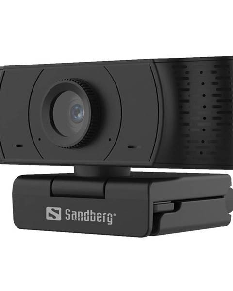 Sandberg Webkamera Sandberg Webcam Office 1080p čierna