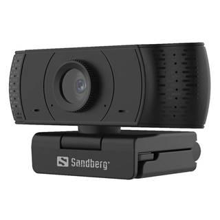 Webkamera Sandberg Webcam Office 1080p čierna