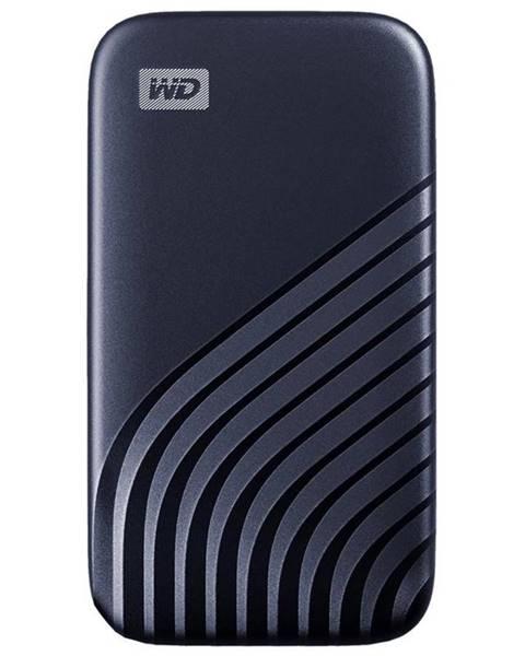 Western Digital SSD externý Western Digital My Passport SSD 500GB modrý