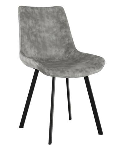 Jedálenská stolička sivá NIRO poškodený tovar