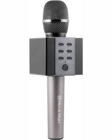 Prenosný reproduktor Technaxx Elegance, karaoke mikrofon čierny