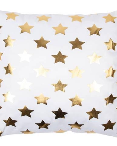 JAHU Vankúšik Gold De Lux Hviezdy, 43 x 43 cm