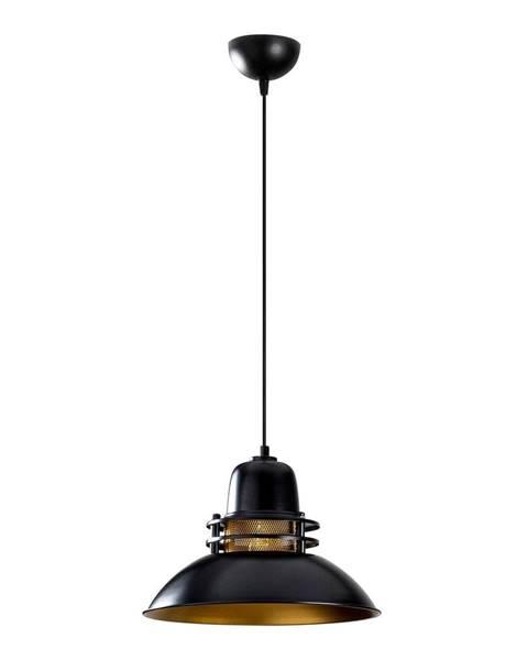 Opviq lights Čierne závesné svietidlo Opviq lights Berceste, ø 34 cm