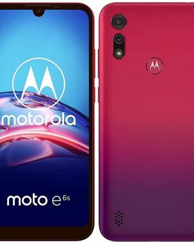 Mobilný telefón Motorola Moto E6s Plus červený