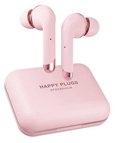 Slúchadlá Happy Plugs Air 1 Plus In-Ear ružov