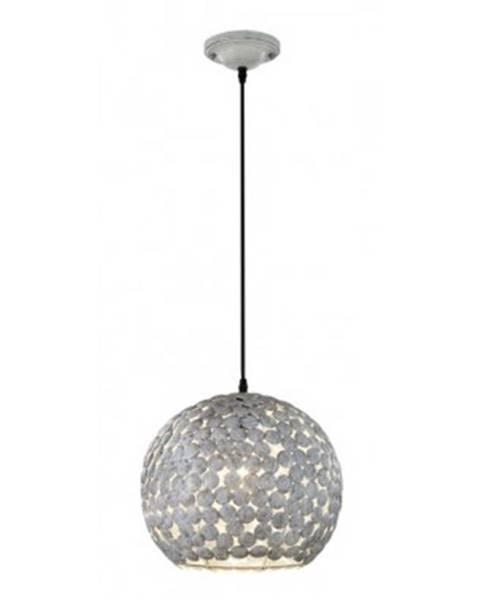 ASKO - NÁBYTOK Stolná lampa Frieda 302200161, šedobiela%