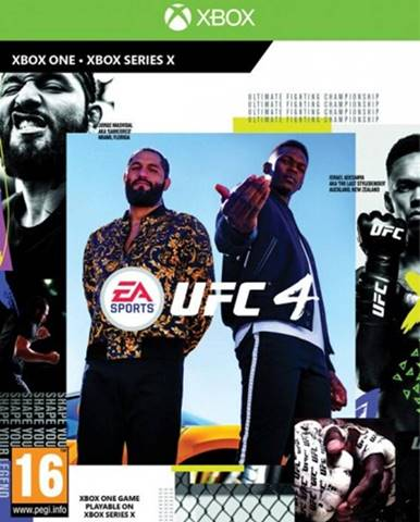 XBOX hra - UFC 4