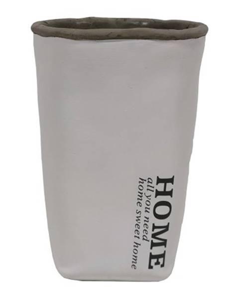 OKAY nábytok Cementová váza CV04 biela