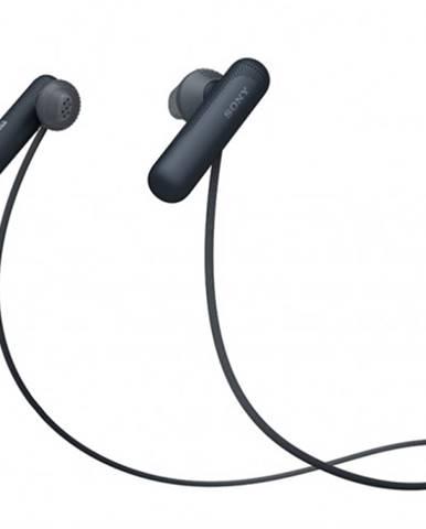 Športové bezdrôtové slúchadlá Sony WI-SP500B, čierna