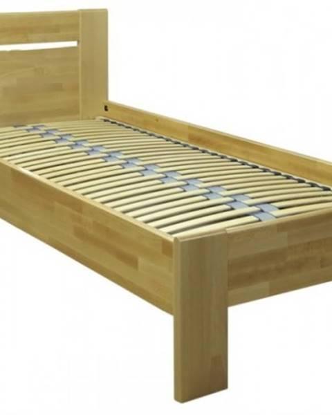 OKAY nábytok Rám postele Tina 1, 90x200, buk masív