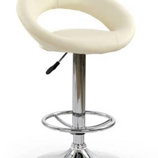 Barová stolička H15, krémová