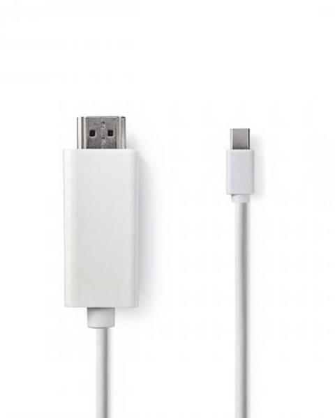 Nedis HDMI Kábel Nedis mini DisplayPort, 2 m, biely