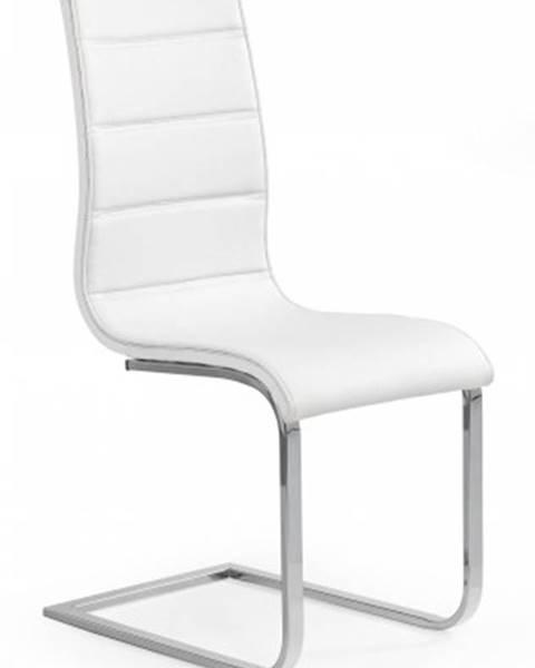 OKAY nábytok Jedálenská stolička K104 biela