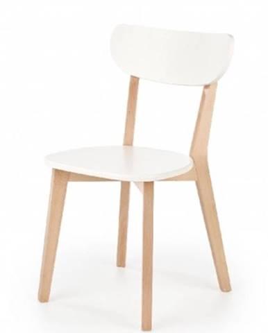 Jedálenská stolička Ronja biela