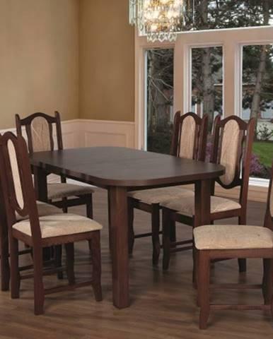 Jedálenský set 27 - Stôl 150x80,6x stolička