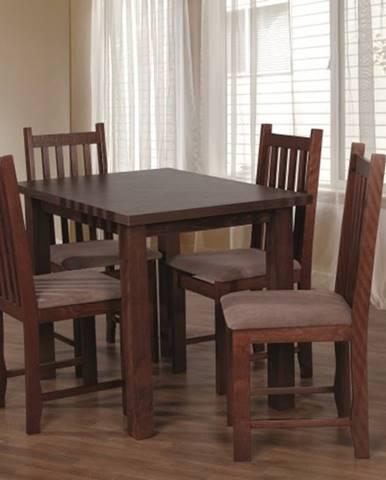 Jedálenský set 31 - Stôl 100x70, 4x stolička