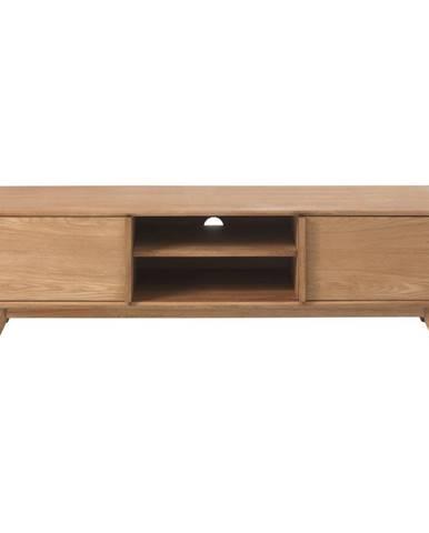 TV stolík z masívneho duba Unique Furniture Rho