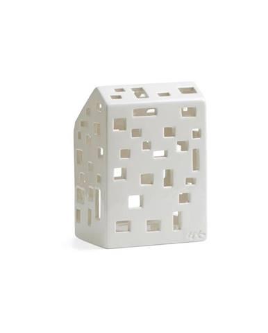 Biely keramický svietnik Kähler Design Urbania LighthoFunkis