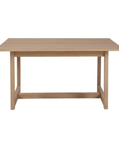 Odkladací stolík z dubového dreva Canett Binley, 120 x 75 cm