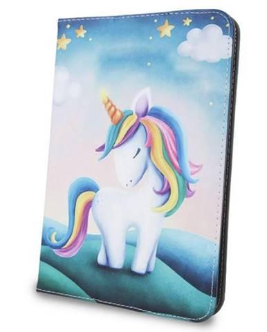 """Púzdro na tablet flipové GreenGo Unicorn na tablet 7-8"""""""