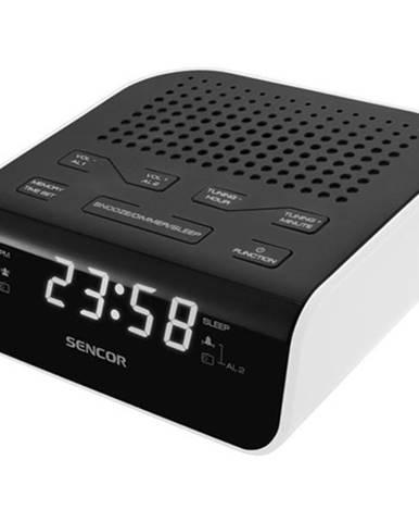 Rádiobudík Sencor SRC 136 WH čierny/biely