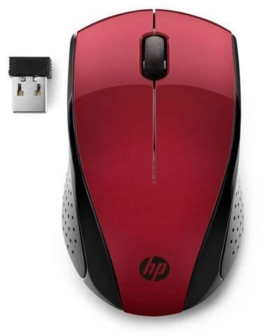 Myš  HP 220 červená