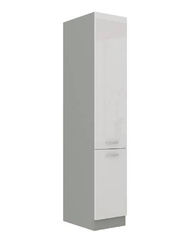 Skrinka potravinová vysoká biela vysoký lesk PRADO 40 DK-210 2F