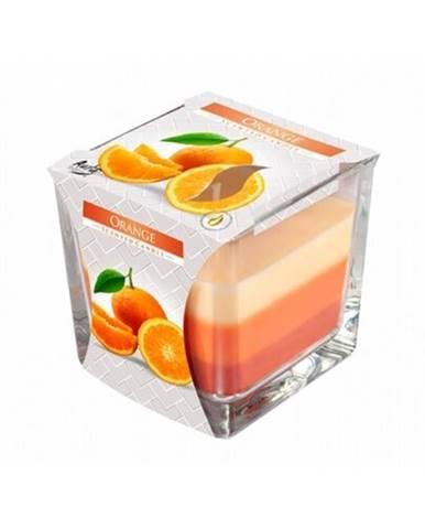 Sviečka v skle Dúha Pomaranč, 170 g