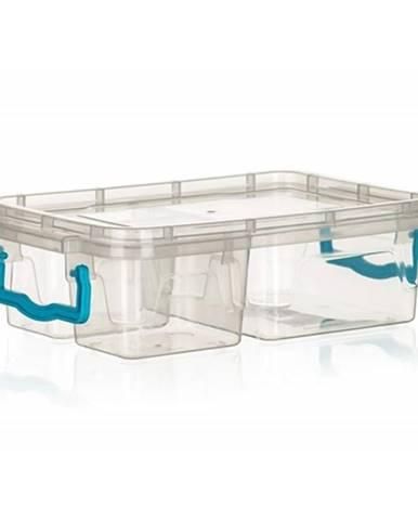 Banquet Box delený GEMA 2x 330 ml + 970 ml, tyrkysová